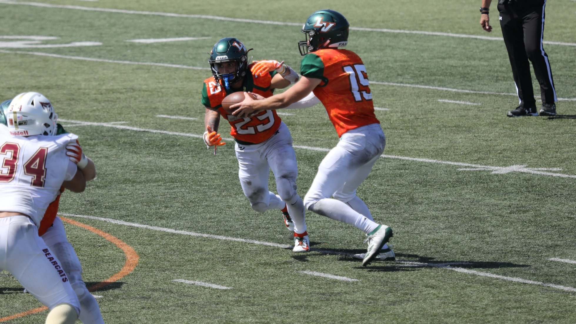 Football Rushes Past Willamette