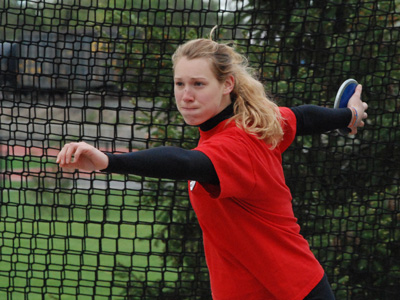 Carioto claims 2011 ECAC shot put title