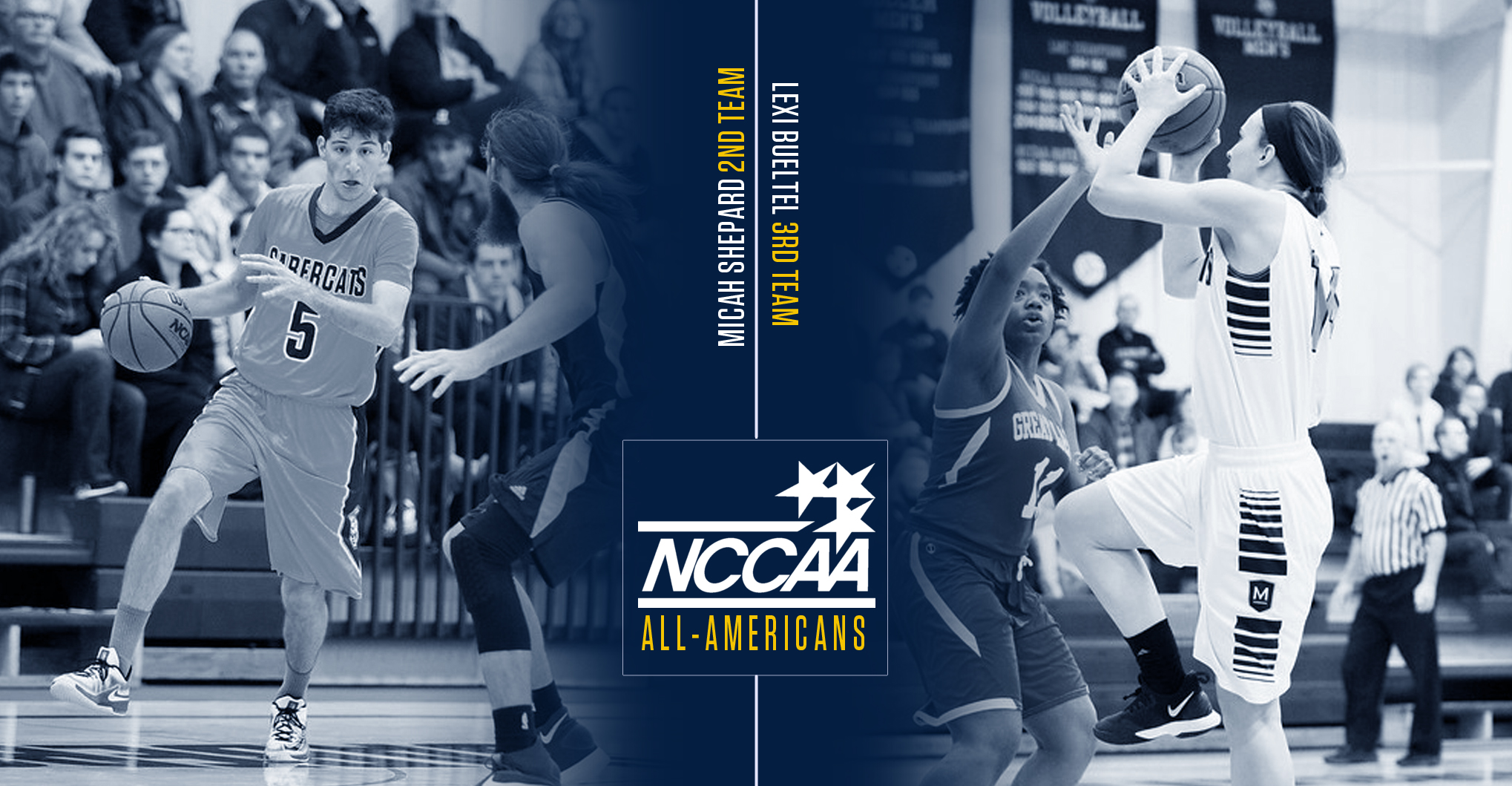Shepard, Bueltel Named NCCAA All-American