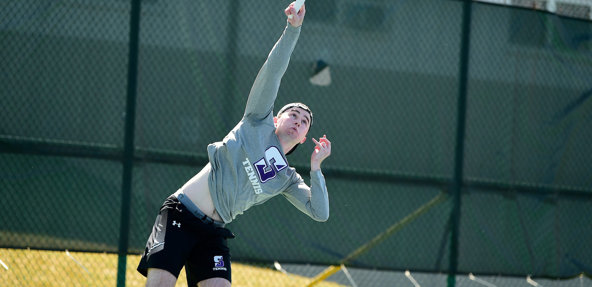 Junior Tarquin McGurrin advanced to the second round at the ITA Northeast Region Championships over the weekend.