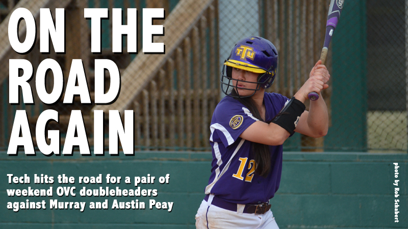 Softball heads to Murray and Austin Peay for a pair of weekend doubleheaders