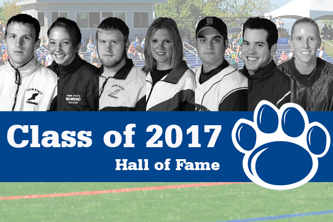 Seven Named to 2017 Behrend Athletics Hall of Fame