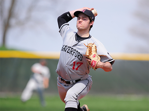 Bergjans sets program strikeout record as Fords sweep Shoremen