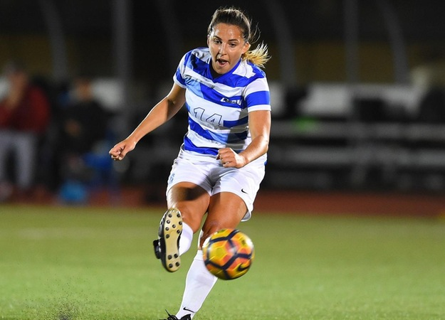 Maurer, Tachibana Score for Women's Soccer in 3-2 Setback at UConn