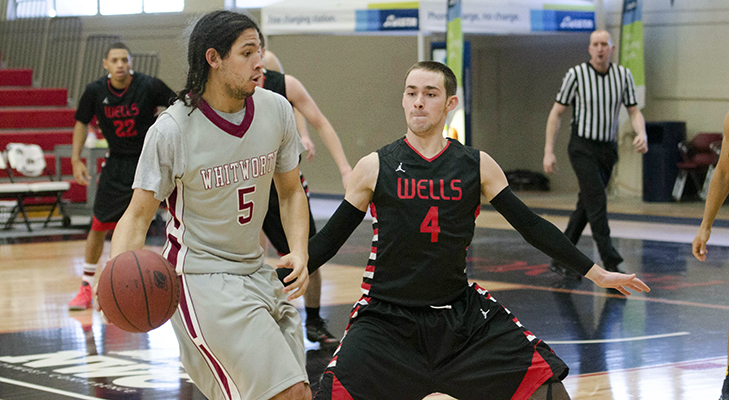 Men's Basketball Tripped Up By Whitworth, 84-43