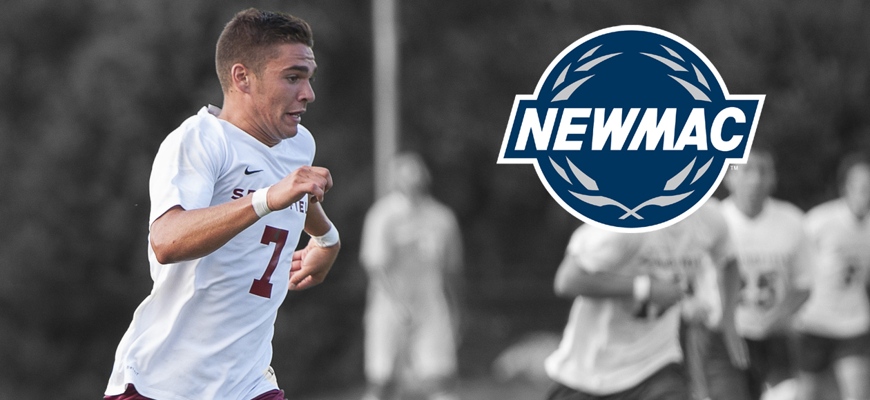 Alvaro Named NEWMAC Men's Soccer Offensive Player of the Week