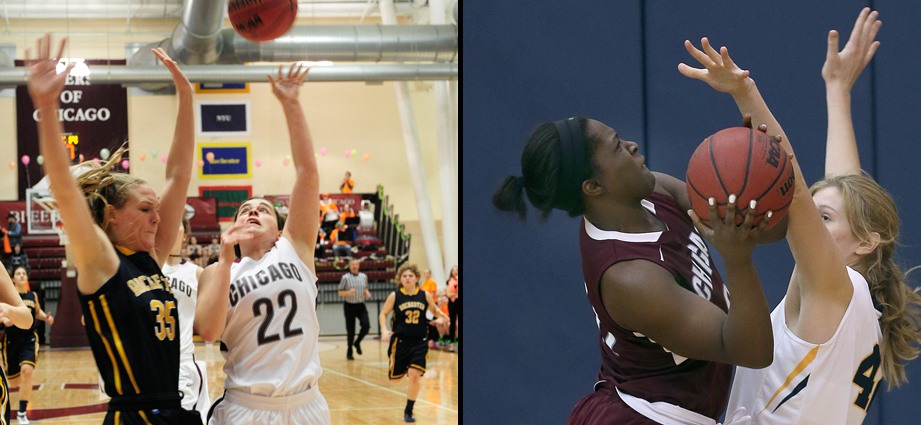 Elizabeth Nye and Olariche Obi  