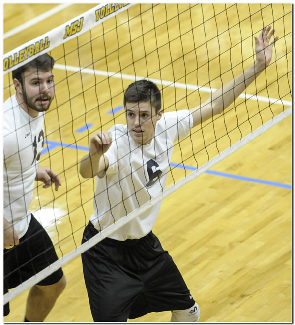 Lions' men's volleyball team posts fifth straight win with a 3-0 home victory over MSOE