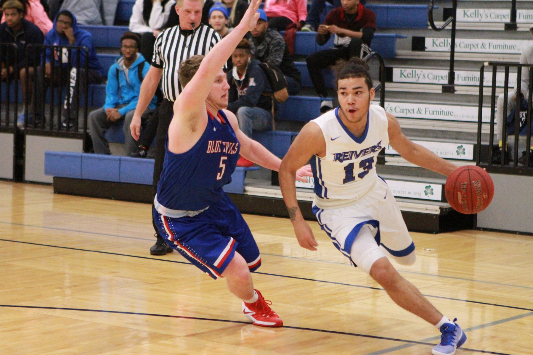 Iowa Western's Pat Dembley and his teammates opened up the 2017-18 season with a 111-85 victory at Kanesville Arena against the visiting Concordia University (NE) JV.