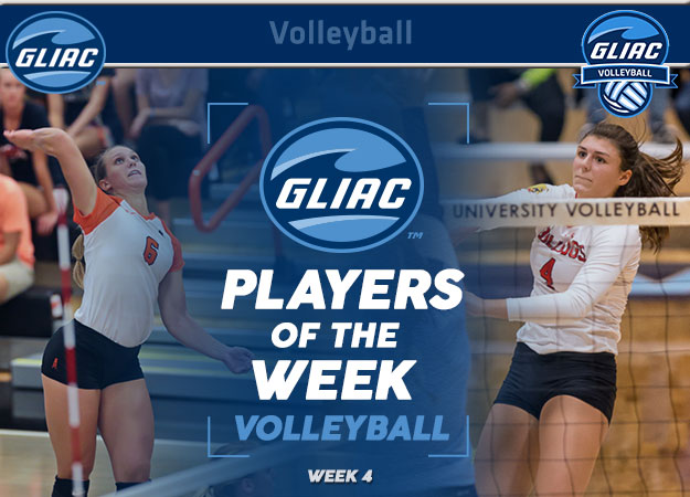 GLIAC Volleyball Players of the Week - Week 4