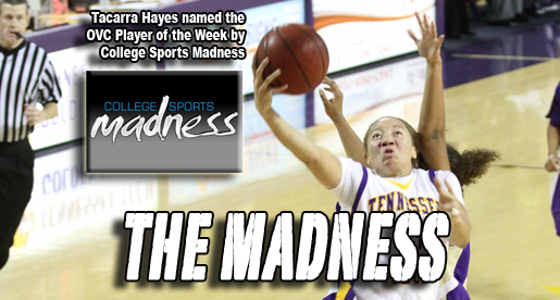 Tacarra Hayes honored by College Sports Madness