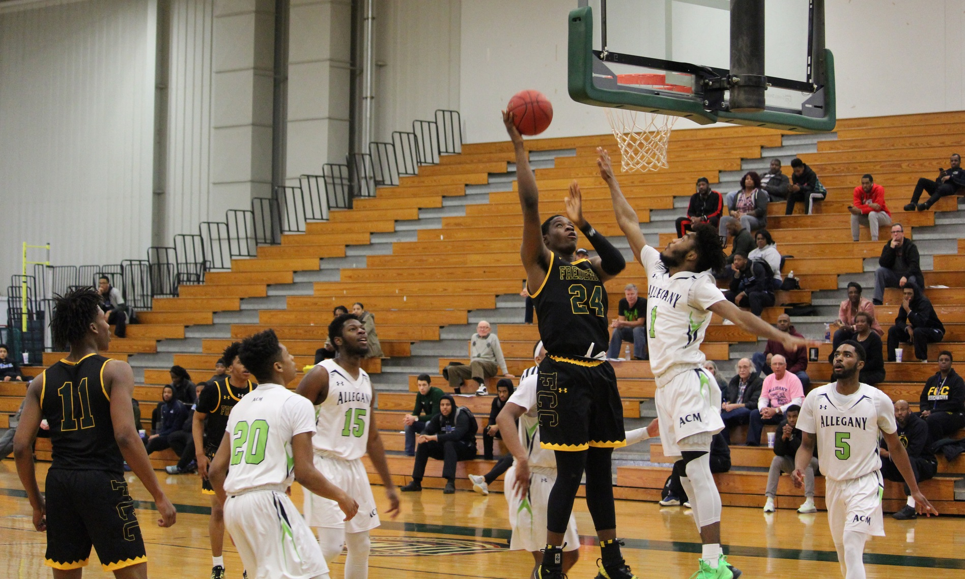 MDJUCO Men's Basketball Tournament: #7 Frederick Upsets #2 Allegany, Face Harford in Semifinal