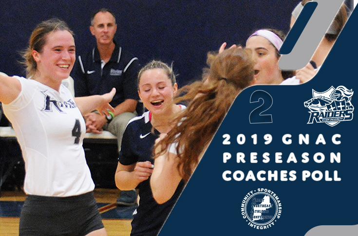 Women's Volleyball: Raiders selected 2nd in annual Pre-Season Poll