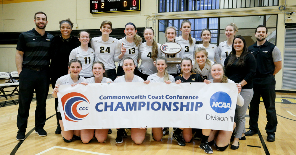 GOING DANCING: Women's Volleyball Crowned 2018 CCC Champions
