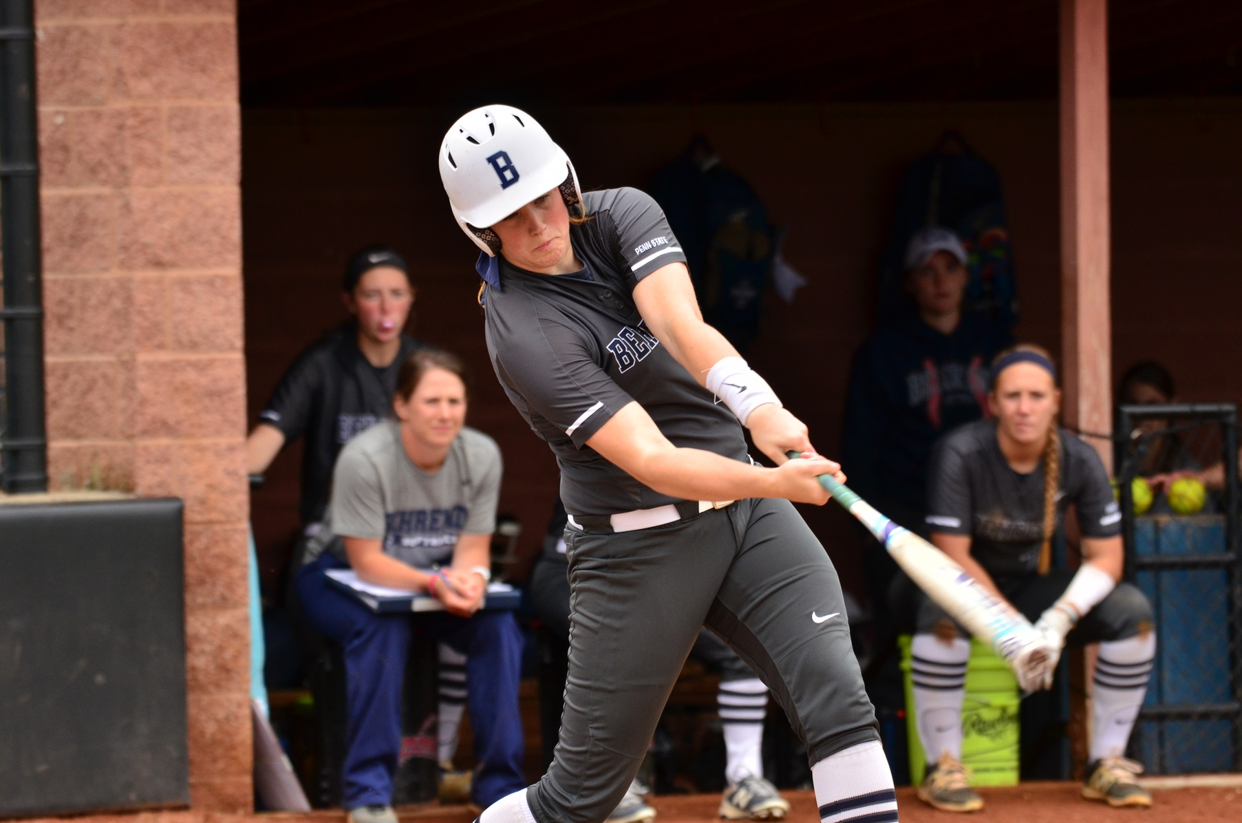 Softball Wins Two Games; Kargol Hits Three-Run Home Run