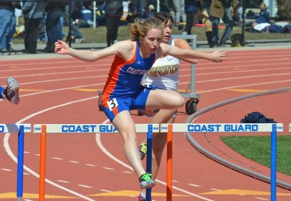 Bishop Runs Personal Best in 100 Hurdles at Holy Cross