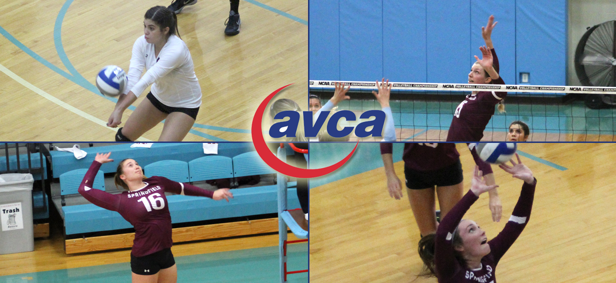 Sanchez Named AVCA New England Co-Freshman of the Year; Four Earn All-Region Honors