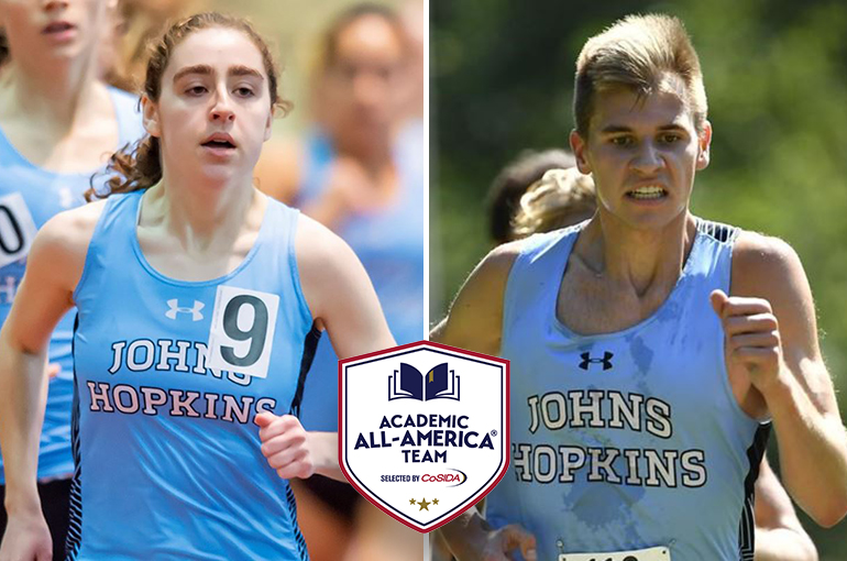 JHU's Grusby, King Earn Academic All-America Honors