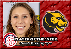 Leah Rogoz-Wentworth, Women's Volleyball: Player of the Week