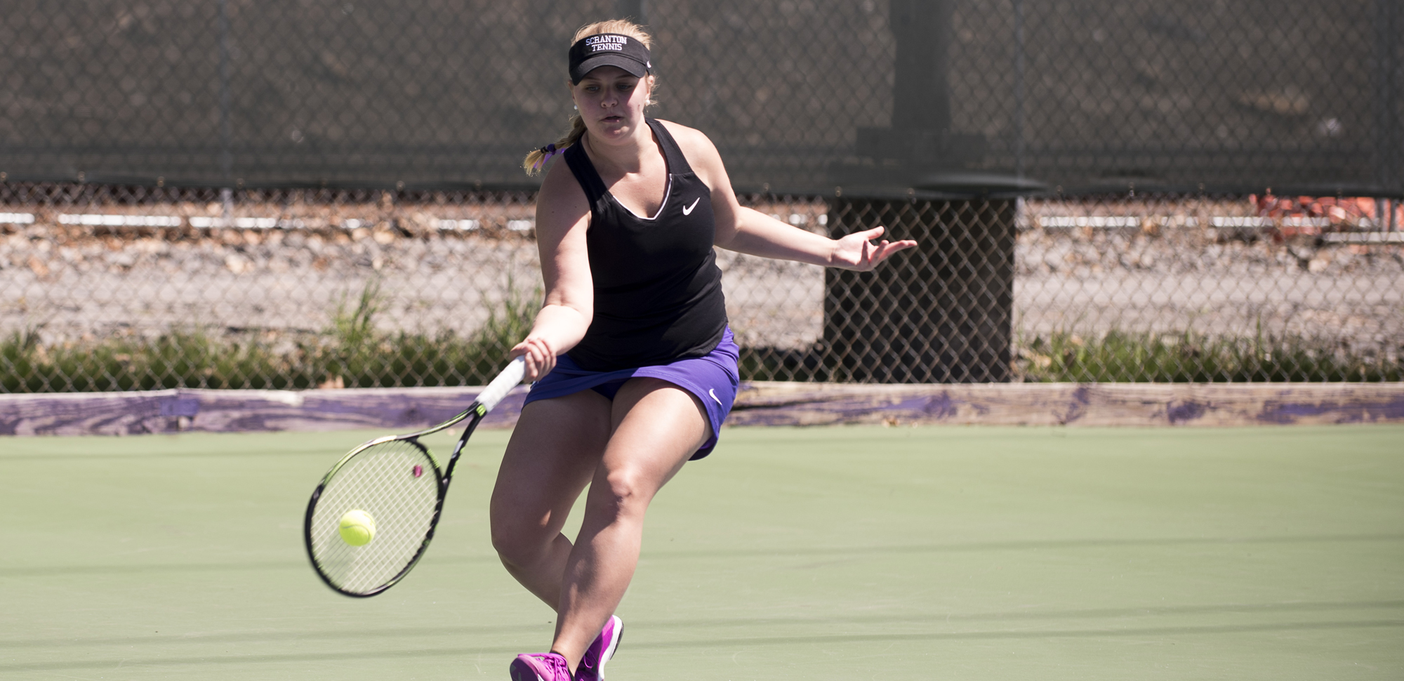 Emilia Jakubek was one of four Royals to win twice on Sunday in Scranton's win over Elizabethtown.