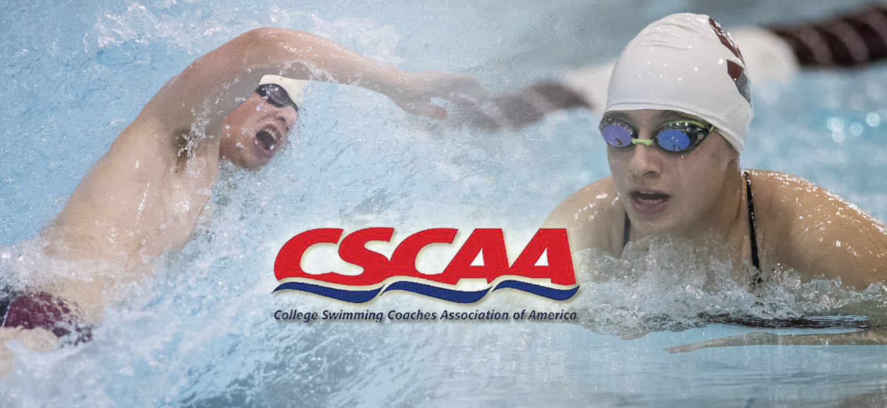 Men's and Women's Swimming and Diving Named CSCAA Division III Scholar Teams