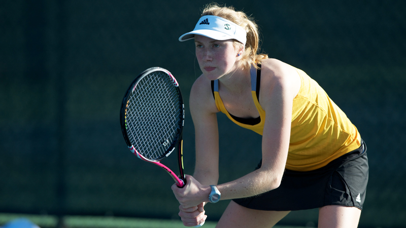 WOMEN'S TENNIS RUNS INTO RED HOT No. 23 UC IRVINE