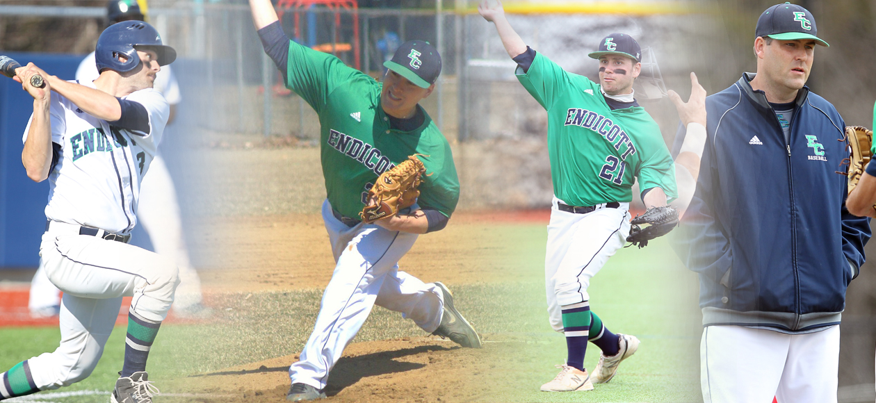 Gold, Branch, Farnham, and Haley Lead Ten All-CCC Baseball Winners
