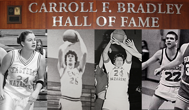 Eastern Nazarene College Inducts 2015 Carroll F. Bradley Hall of Fame Class