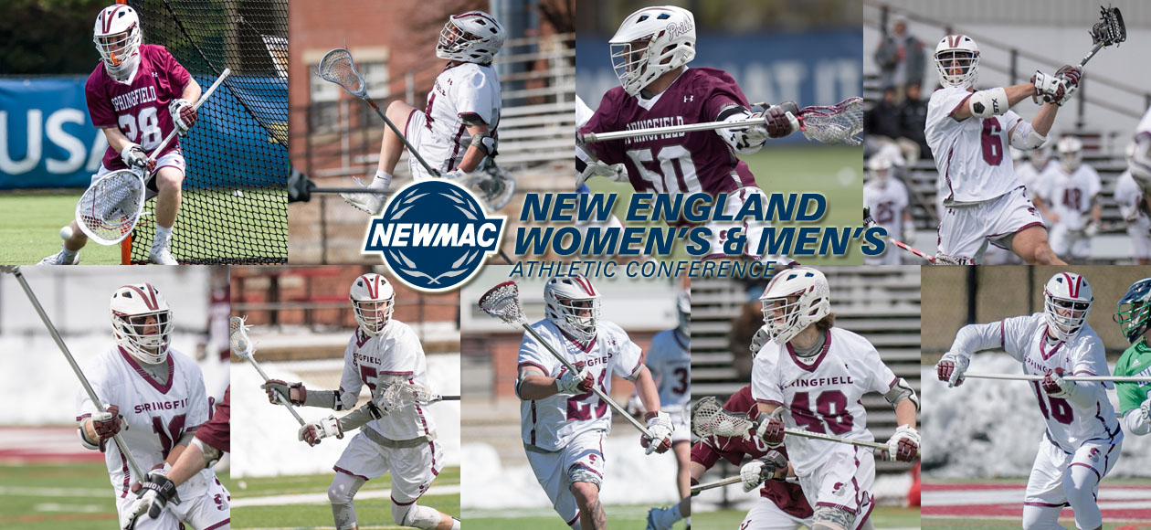 Men's Lacrosse Lands Nine on NEWMAC All-Conference Teams; Reynolds Tabbed Defensive Co-Athlete of the Year