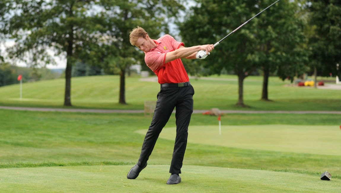 Ferris State Men's Golf Only One Shot Off Lead After First Round At Regional Event
