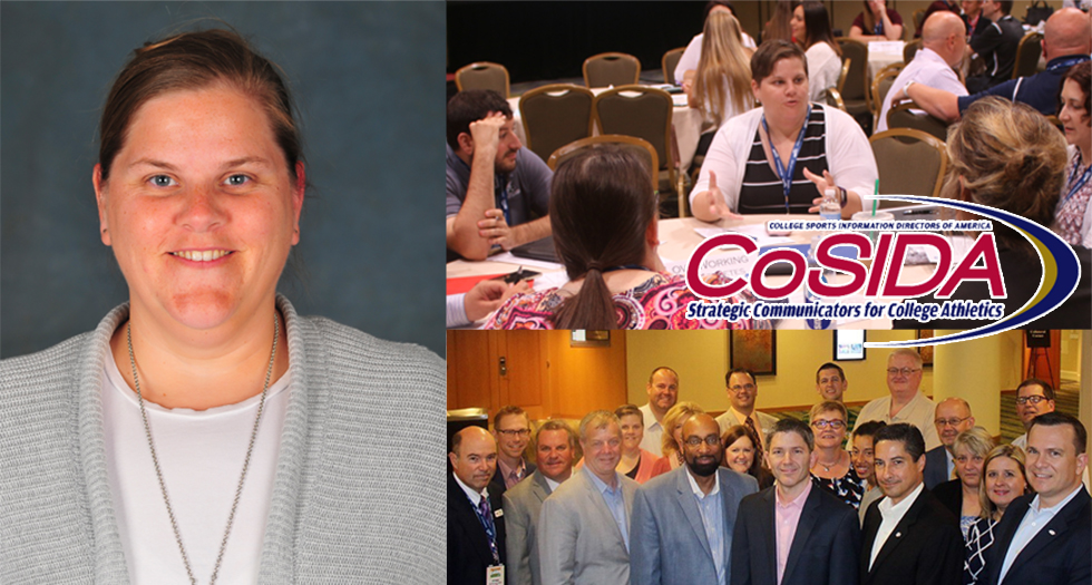 Amie Canfield Named to the CoSIDA Board of Directors