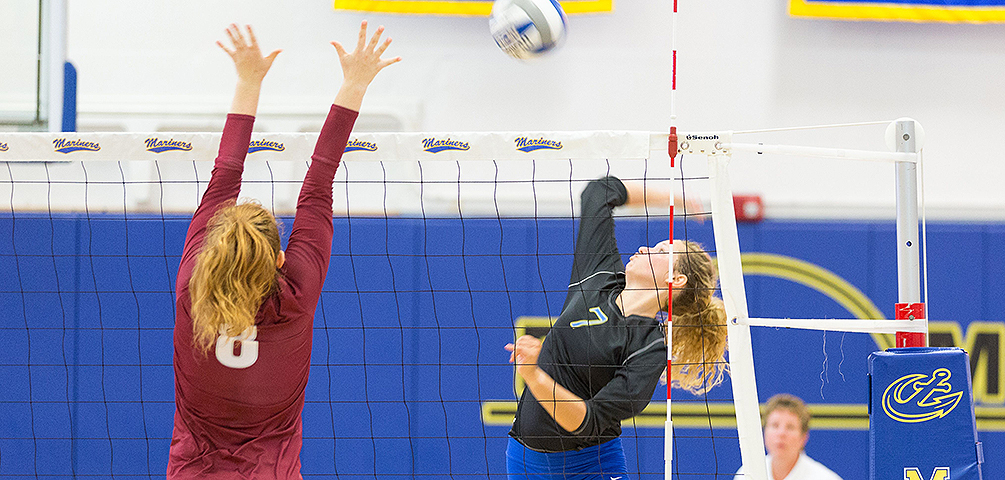 Volleyball Falls to USM and UNE