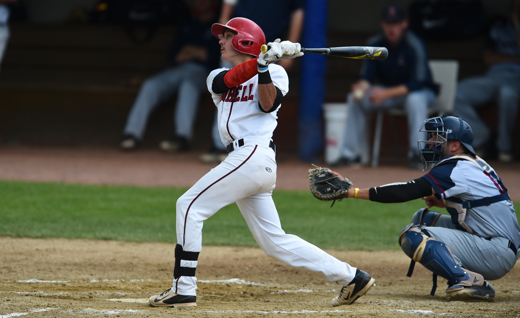 Baseball Completes Sweep at Lesley