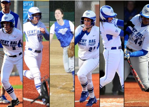 Softball Splits With RMU on Senior Day