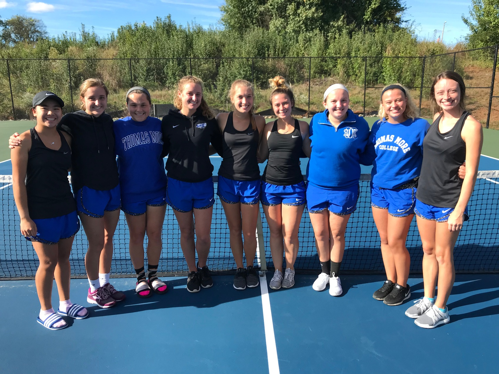 Women's Tennis Closes Out Fall Season With a 9-0 Win