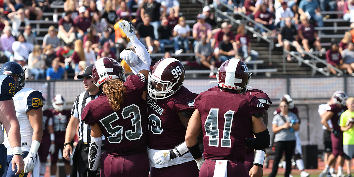 No. 18 Evangel Football Makes Statement in 65-0 Homecoming Shutout vs Graceland