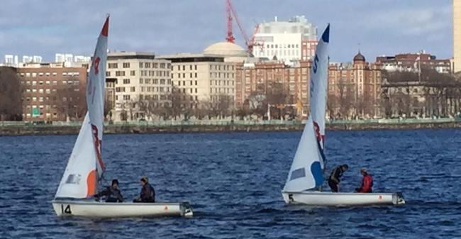 Dinghy Sailing Posts Sixth Place Overall Finish At Boston University Central Series Two Regatta