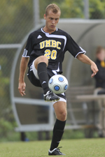 Milo Kapor registered his first point of the season with an assist vs. Towson on Sept. 8