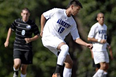 Men's Soccer Downs Mount Saint Mary College 4-1 for First Victory of 2011