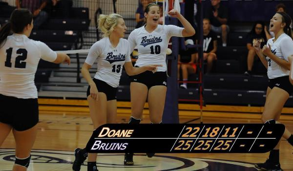 Bellevue swept Doane Monday evening and have now won seven of eight