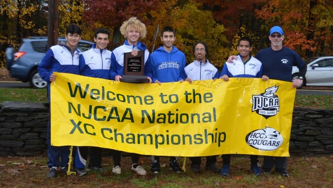 Third Place at Nationals for Men's XC