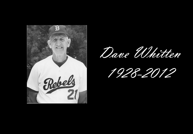 Former Belmont Baseball Coach Dave Whitten Passes Away