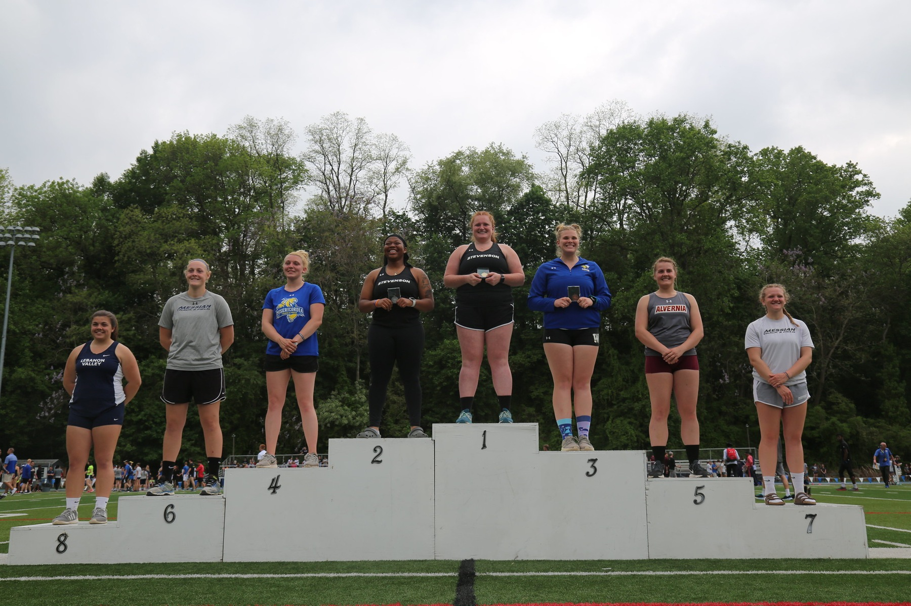 Rega, Ani Go One-Two in Shot Put, Mustangs Finish Fifth at MAC Championships