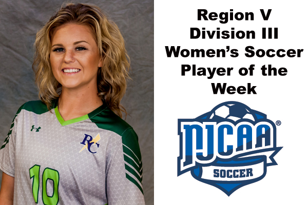 Region V Division III Women's Soccer Player of the Week (Oct. 1-7)