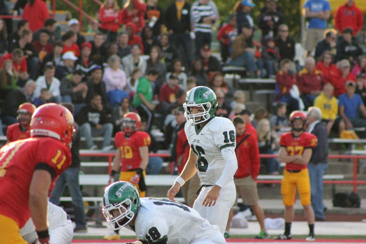 Football At Ferris State Sept 14 2013 Lake Erie