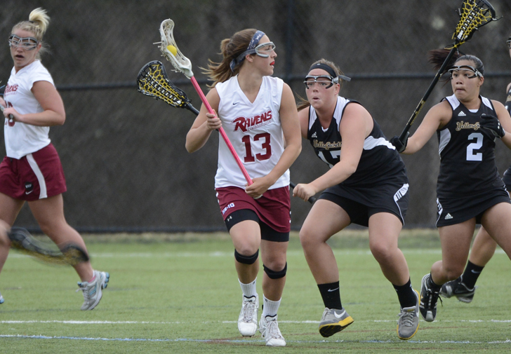 Triples from Dale, Shopshire, Weber Lead Women's Lacrosse to 14-4, Season-Opening Win at Nyack