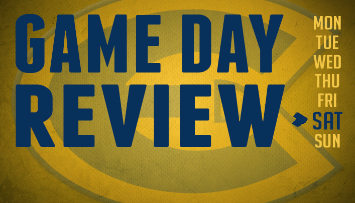 Game Day Review - Saturday, November 2, 2013