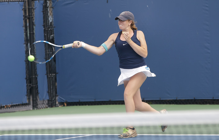 No.-1 Emory Women's Tennis Downs Division I Richmond, 5-2