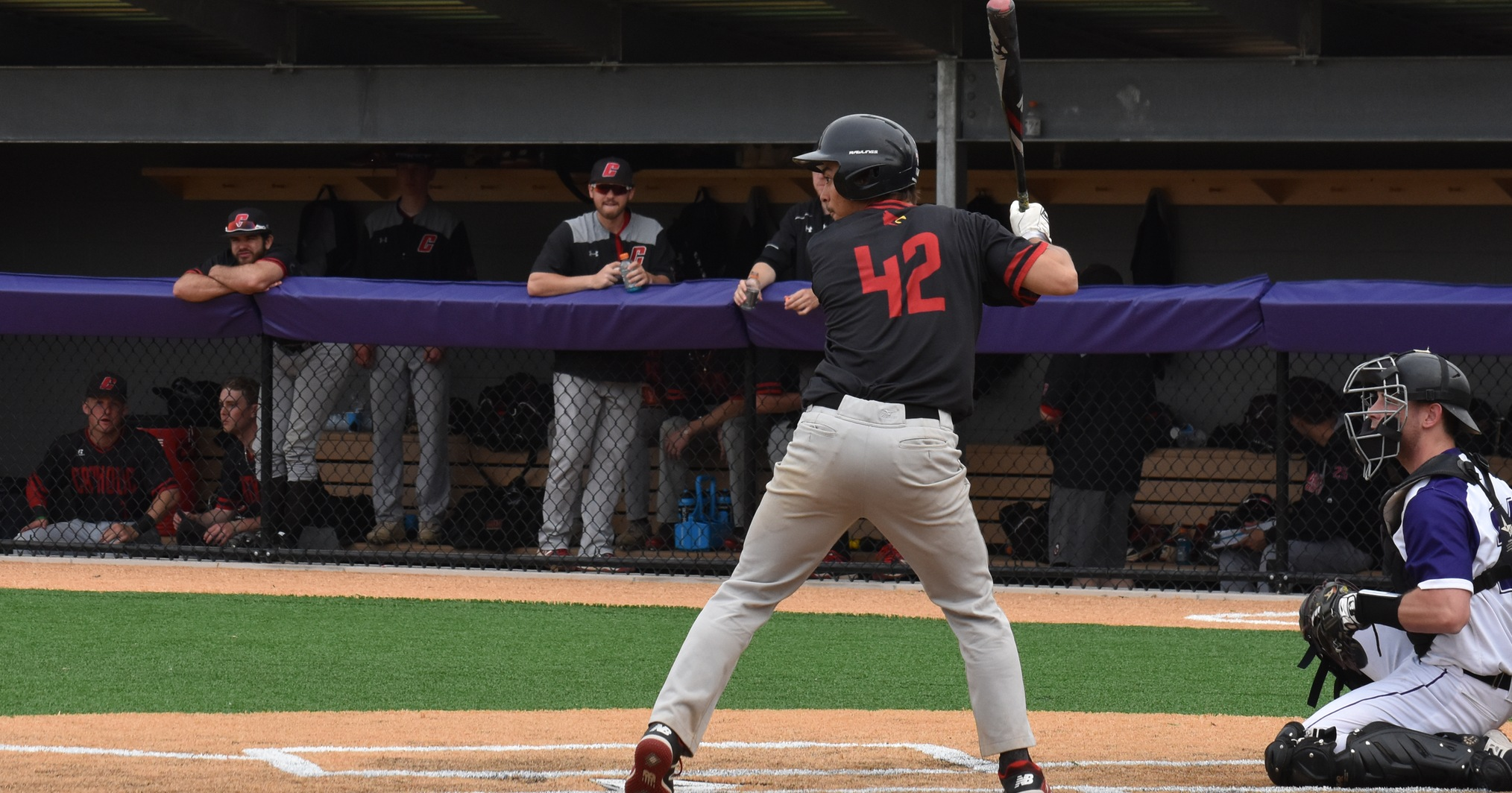 Cardinals Down Greyhounds on Day One of Landmarks