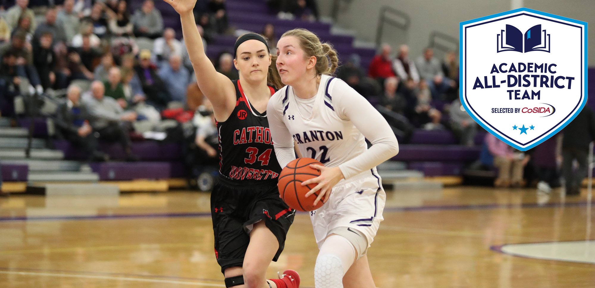 Senior Makenzie Mason was named to the CoSIDA Academic All-District First Team that was announced by the organization on Thursday afternoon.